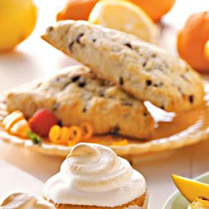 Tangerine Chip Tea Scones Recipe
