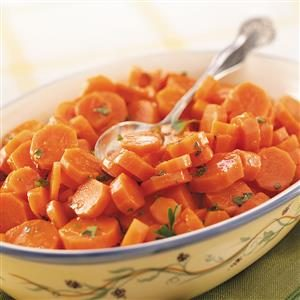 Glazed Orange Carrots Recipe