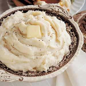 Fluffy Creamed Potatoes Recipe