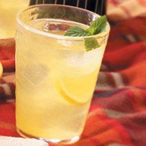 Hint-of-Mint Lemonade Recipe