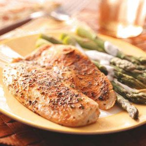 Seasoned Tilapia Fillets Recipe