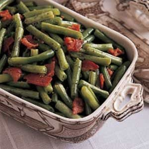 Green Beans with Bacon Recipe