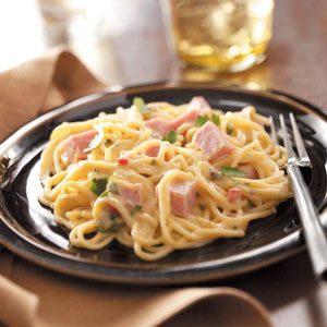 Baked Ham Tetrazzini Recipe