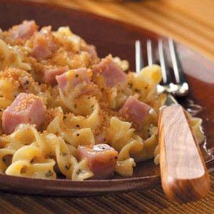 Ham and Noodle Bake Recipe