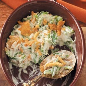 Creamy Green Bean Casserole Recipe