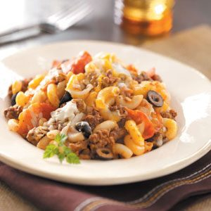Hearty Pizza Casserole
