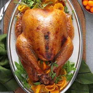 Cranberry-Orange Roasted Turkey