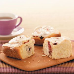 Makeover Cranberry Rolls Recipe