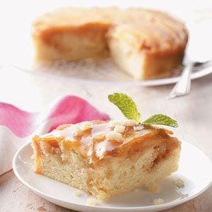 Mango-Macadamia Upside Down Cake Recipe