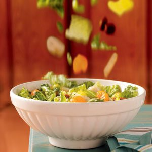 Mandarin Romaine Salad Recipe