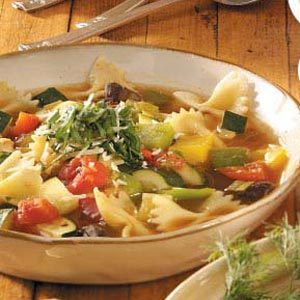 Chicken Cacciatore Soup Recipe