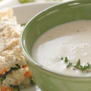 Favorite Cream of Cauliflower Soup Recipe
