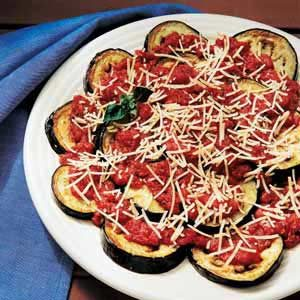 Eggplant with Tomato Sauce Recipe photo by Taste of Home