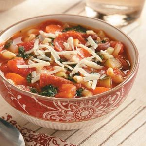 Hearty Slow Cooker Minestrone Soup Recipe