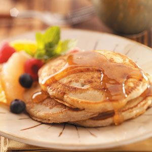 Egg-Free Spiced Pancakes Recipe