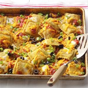 Crowd-Pleasing Ravioli Nachos Recipe