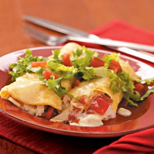 Club-Style Turkey Enchiladas Recipe