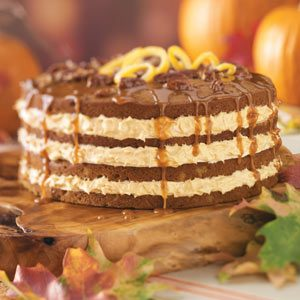 Orange Pumpkin Cake Recipe