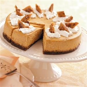 Pumpkin Cheesecake Deluxe Recipe