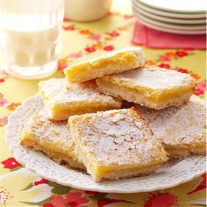 Homemade Lemon Bars Recipe