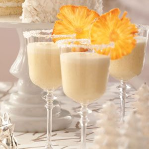 Frosty Pineapple Punch Recipe