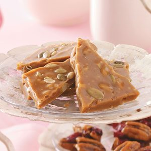 Pumpkin Seed Toffee