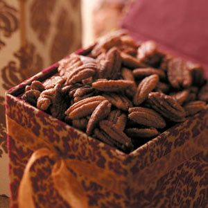 Pumpkin Pie Spiced Pecans