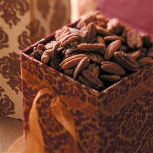Pumpkin Pie Spiced Pecans Recipe