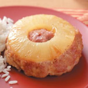 Pineapple Ham Loaves Recipe