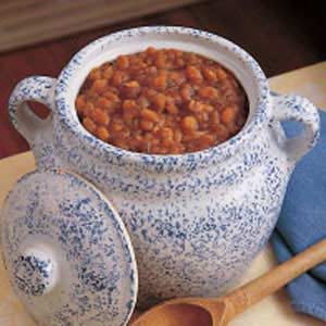 Oven-Baked Beans Recipe photo by Taste of Home