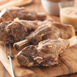 Sauerbraten Lamb Shanks Recipe