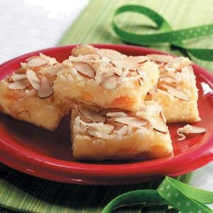 Apricot Coconut Bars Recipe
