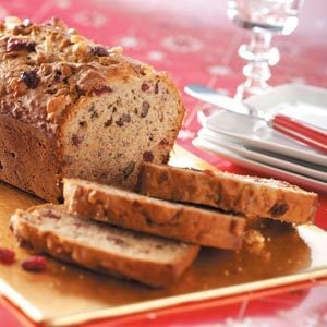 Cranberry Banana Bread Recipe