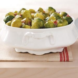 Sweet & Sour Brussels Sprouts Recipe