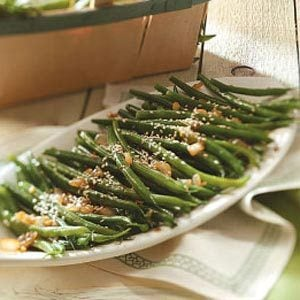 Easy Sesame Green Beans Recipe