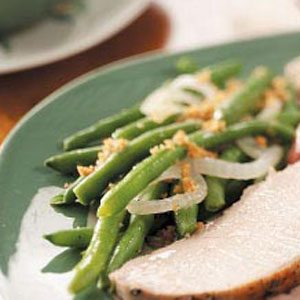 Celebration Green Beans Recipe