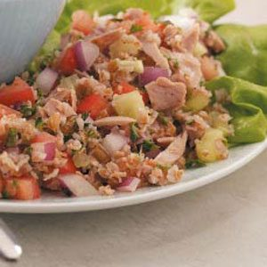 Tuna Tabbouleh Salad Recipe
