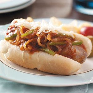 Quick Italian Sausage Sandwiches Recipe