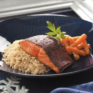 Pan-Seared Chili Salmon Recipe