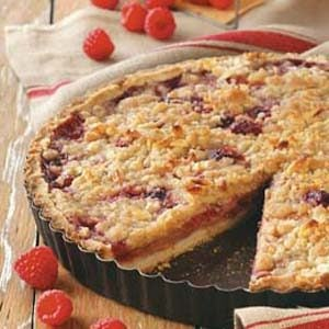 Raspberry Pear Tart Recipe