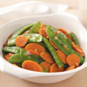 Carrots and Snow Peas Recipe