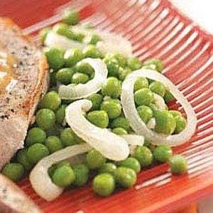 Green Peas with Onion Recipe