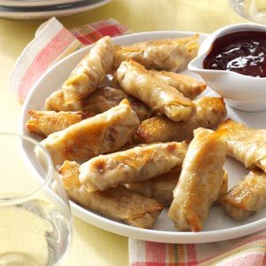 Crispy Baked Wontons Recipe photo by Taste of Home