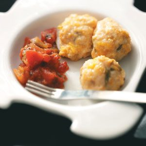 Mexican Chicken Meatballs