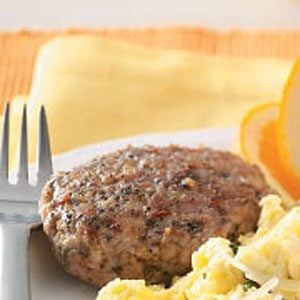 Spicy Sausage Patties Recipe
