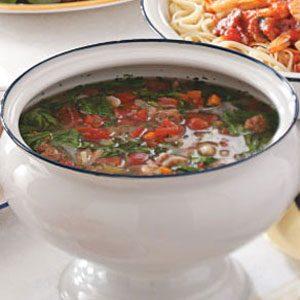 Zuppa di Fagioli Recipe