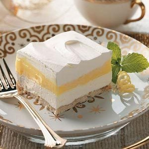 Fluffy Lemon Pudding Dessert Recipe