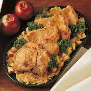 Pork Chops and Sauerkraut Recipe