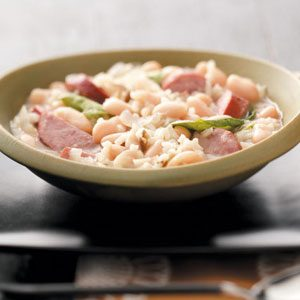 Sausage & Rice Stew Recipe