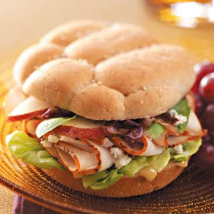 Bistro Turkey Sandwiches Recipe